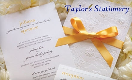 $20 Groupon to Taylor's Stationery - Taylor's Stationery in Needham