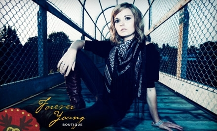 $100 Groupon to Forever Young Boutique - Forever Young Boutique in Lee's Summit