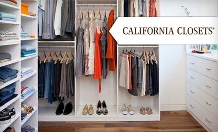 $500 Groupon to California Closets - California Closets in