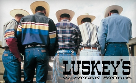 $50 Groupon to Luskey's - Luskey's in Fort Worth