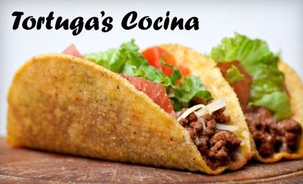 $20 Groupon to Tortuga's Cocina - Tortuga's Cocina in Lambertville