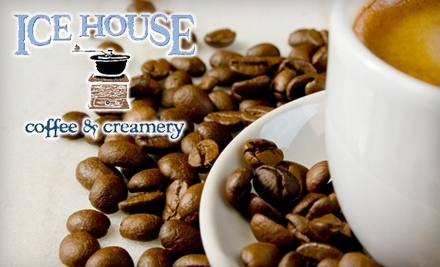 $8 Groupon to Ice House Coffee & Creamery - Ice House Coffee & Creamery in De Pere