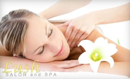 Lush Salon and Spa: 60-Minute Aromatherapy Masasge - Lush Salon and Spa in Rochester