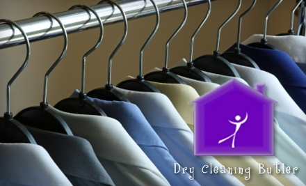 $60 Groupon to Dry Cleaning Butler - Dry Cleaning Butler in
