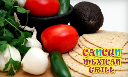 $20 Groupon to Cancun Mexican Grill - Cancun Mexican Grill in Fort Lauderdale