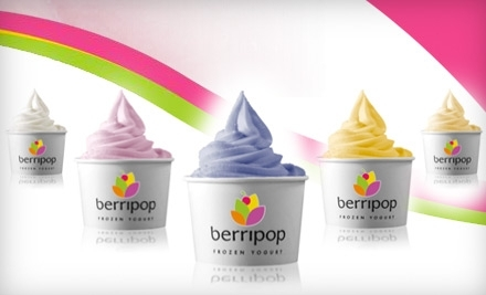 $10 Groupon to Berripop Frozen Yogurt at 650 W Bough Ln. in Houston - Berripop Frozen Yogurt in Houston