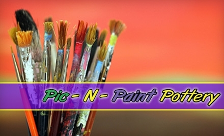 $25 Groupon to Pic-N-Paint Pottery - Pic N Paint Pottery in Pasadena