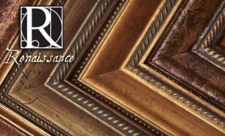 $125 Groupon to Renaissance Framing Gallery - Renaissance Framing Gallery in Cambridge