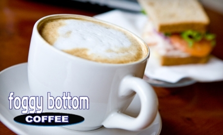 $20 Groupon to Foggy Bottom Coffee House - Foggy Bottom Coffee House in Dexter