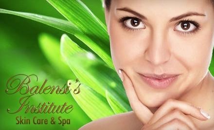 $125 Groupon to Balensis Institute Skin Care & Spa - Balensis Institute Skin Care & Spa in Chula Vista
