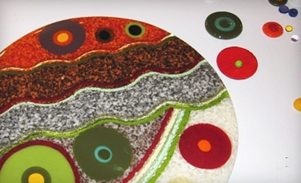 Accents in Glass: 1 Fundamentals of Fusing Glass Class - Accents in Glass in Rye