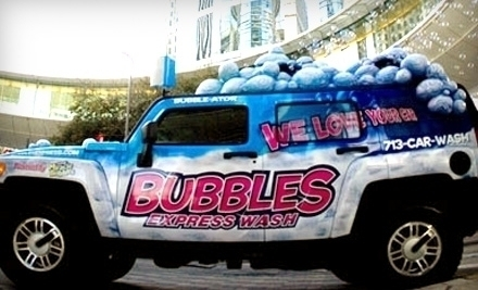 Bubbles Car Wash Houston