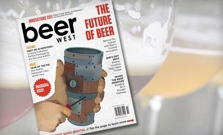 Beer West Magazine - Beer West Magazine in