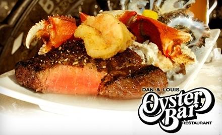 Dan & Louis Oyster Bar: $35 Groupon for Dinner - Dan & Louis Oyster Bar in Portland