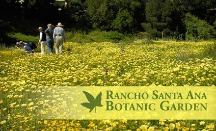 Rancho Santa Ana Botanic Garden: 1 Family-Admission Pass - Rancho Santa Ana Botanic Garden in Claremont