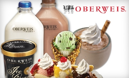 $10 Groupon to Oberweis Dairy - Oberweis Dairy in Royal Oak