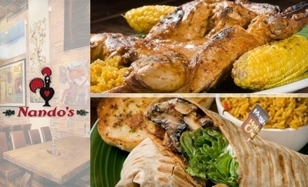 Nando S Flame Grilled Chicken Restaurants Canada