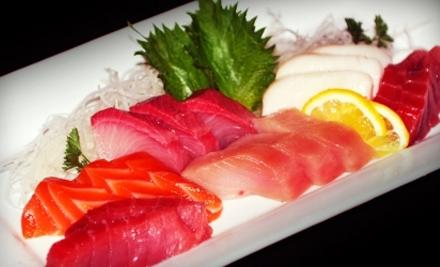$40 Groupon to Live Sushi Bar or Live Sushi Bistro - Live Sushi Bar and Live Sushi Bistro in San Francisco