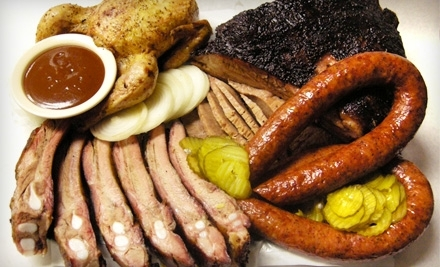 $16 Groupon to Green Mesquite BBQ - Green Mesquite BBQ in Austin