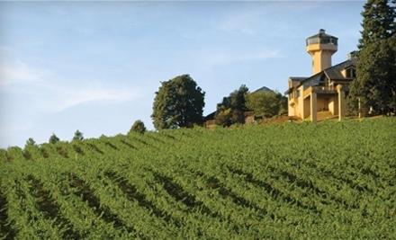 Willamette Valley Vineyards - Willamette Valley Vineyards in Turner