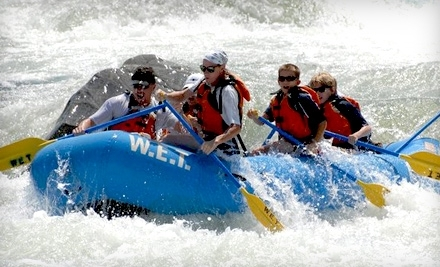 W.E.T. River Trips: 1-Day South Fork Whitewater Rafting Trip Plus Lunch - W.E.T. River Trips in Lotus