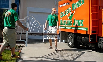 College Hunks Hauling Junk: Two Hours of Home Services  - College Hunks Hauling Junk in