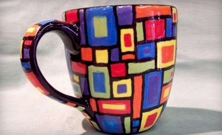 $60 Groupon to Paint Pots Ceramic Studio - Paint Pots Ceramic Studio in Portland