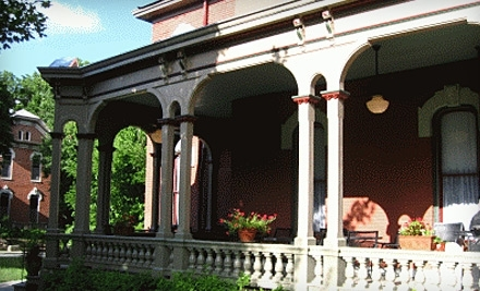 Whiskey Mansion Bed and Breakfast: One-Night Weekend Stay (Friday or Saturday) - Whiskey Mansion Bed and Breakfast in Saint Joseph