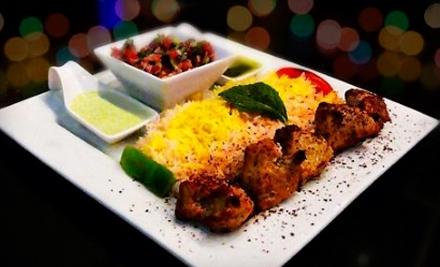 $30 Groupon to Kush Mediterranean Restaurant + Hookah Bar - Kush Mediterranean Restaurant + Hookah Bar in Dallas
