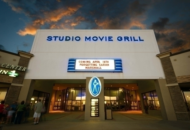 If you're not in the mood to do some light shopping at the Arlington Highlands, or catching a movie at Studio Movie Grill, which is famous for it's $5 tickets and soda from Groupon, and it's luxurious atmosphere, then try up North on Collins Street near the Cowboy's Stadium.