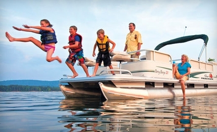 Paradise Rental Boats: 4-Hour Rental of 11-Passenger, 21-Foot Party Barge - Paradise Rental Boats in Cartersville