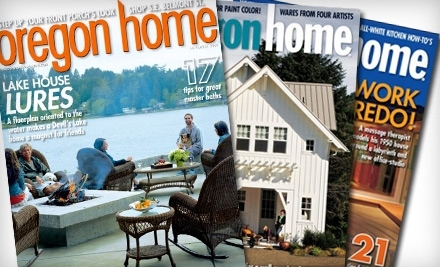 Oregon Home magazine - Oregon Home magazine in