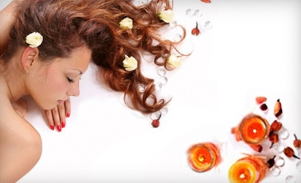 $100 Groupon to Golden Serenity Spa and Salon - Golden Serenity Spa and Salon in Aurora