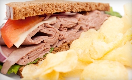 $10 Groupon to Manhattan Sandwich Company - Manhattan Sandwich Company in Marblehead