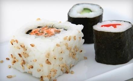 $30 Groupon to Maru Maki, or ($35 Monday through Wednesday) - Maru Maki in Long Beach