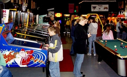 Klassic Arcade - 2 All-Day Passes and 2 Glass-Bottle Sodas - Klassic Arcade in Gobles