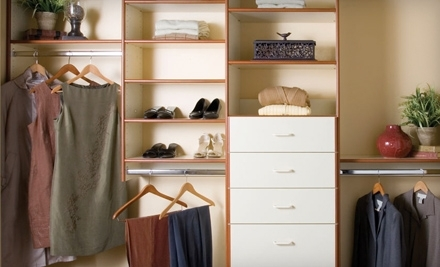 $500 Groupon to Classy Closets - Classy Closets in