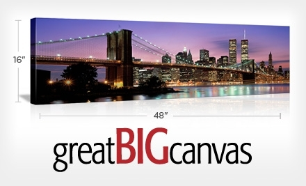 $171.95 Groupon to Great Big Canvas - Great Big Canvas in
