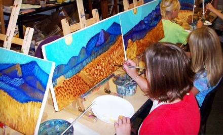 Art House: 2-Hour Painting Party for Up to 8 People - Art House in Flower Mound