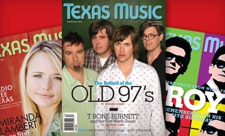 Texas Music Magazine -