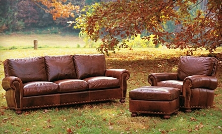 $500 Groupon to Maple's Leather Furniture - Maple's Leather Furniture in