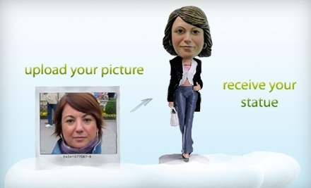 1PaintMe: $55 Groupon toward Personalized Novelty Painting - 1MiniMe & 1PaintMe in