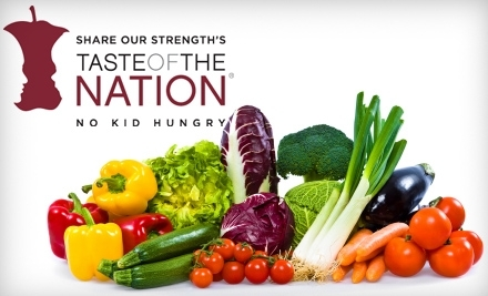 Share Our Strength's Taste of the Nation on Thurs., Apr. 14 at 7:30PM - Share Our Strength's Taste of the Nation in Atlanta