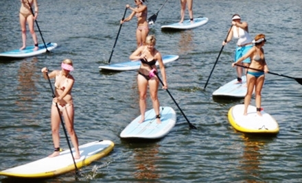 MN Surf Co.: One Stand-Up-Paddleboard Lesson - MN Surf Co. in Minneapolis