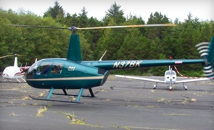 Pioneer Helicopters, Inc.: 15-Minute Helicopter Tour for 3 People - Pioneer Helicopters, Inc. in Independence