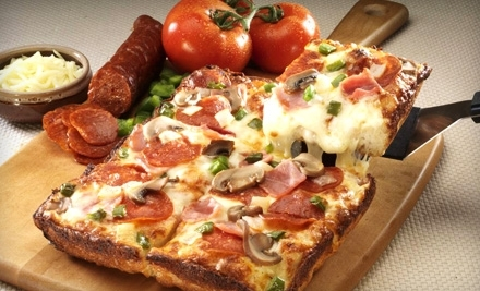 $20 Groupon to Jet's Pizza - Jet's Pizza in Wheeling