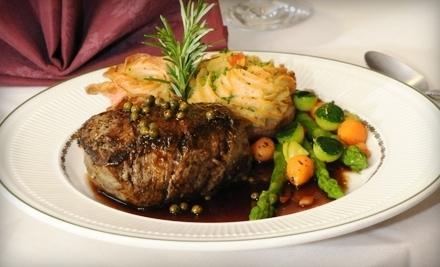 $40 Groupon to Whispering Pines Inn Restaurant - Whispering Pines Inn Restaurant in Norman