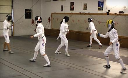 Alamo Fencing Academy: Four Weekly Sessions - Alamo Fencing Academy in San Antonio
