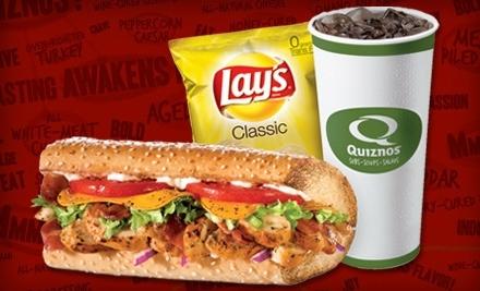 $20 Groupon to Quiznos - Quiznos in Santee