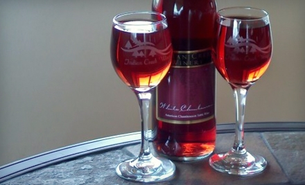 Indian Creek Winery: Wine Tasting for 2, Including Wine Sampling, a Full Glass of Wine, Glassware, a Cheese and Sausage Tray, and a Bottle of Wine to Share - Indian Creek Winery in Georgetown